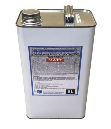 Pattern Imprinted Concrete Sealer - Matt (5Ltr)